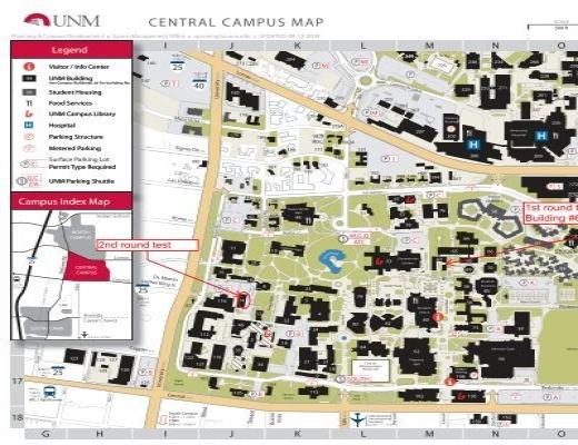 Campus Map Unm.Campus Map University Of New Mexico