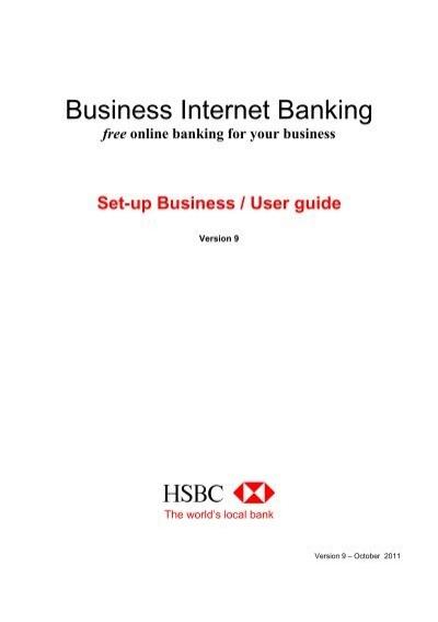 Setup business user guide pdf 383kb business banking hsbc cheaphphosting Choice Image