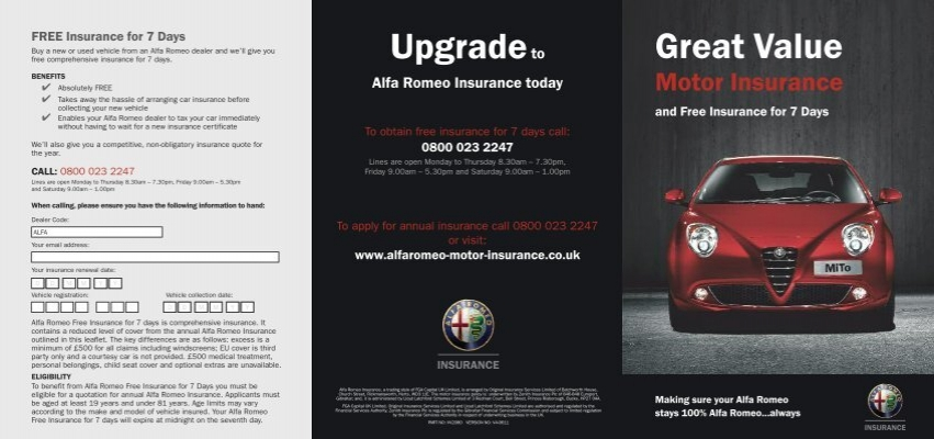 Alfa Auto Insurance >> Upgradeto Great Value Alfa Romeo
