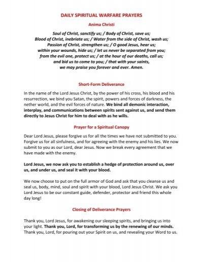 Spiritual warfare prayers against homosexuality