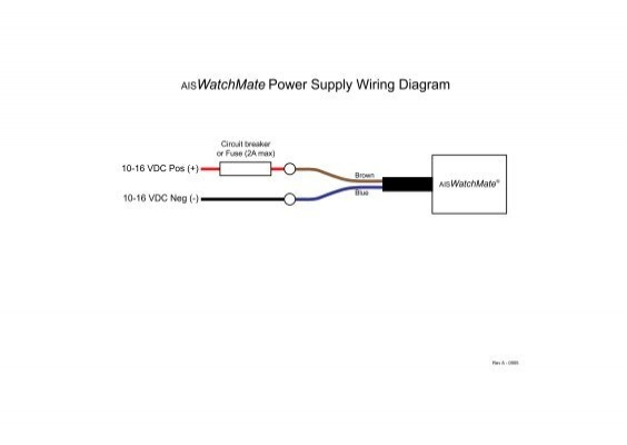 Aiswatchmate Power Supply Wiring Diagram Vesper Marine