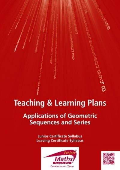 Worksheet 8 6 geometric sequences answer key