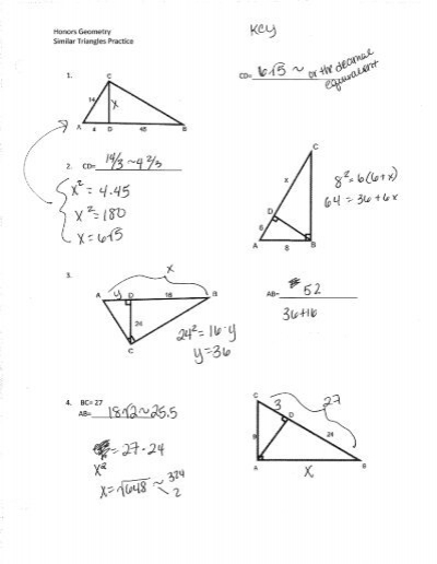 Printables Geometry Honors Worksheets printables geometry honors worksheets safarmediapps similar triangles worksheet intrepidpath practice