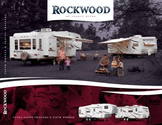2007 rockwood 8288ss owners Manual