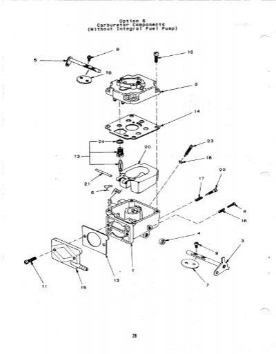 Onan Nikki Carburetor Diagrams 30 Wiring Diagram Images