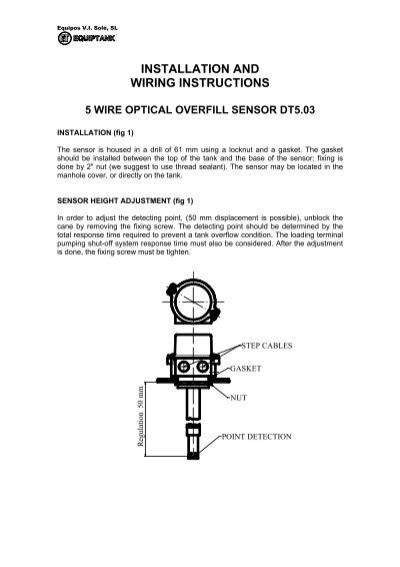 optic sensor wiring procedure well interparts online M12 Sensor Wiring