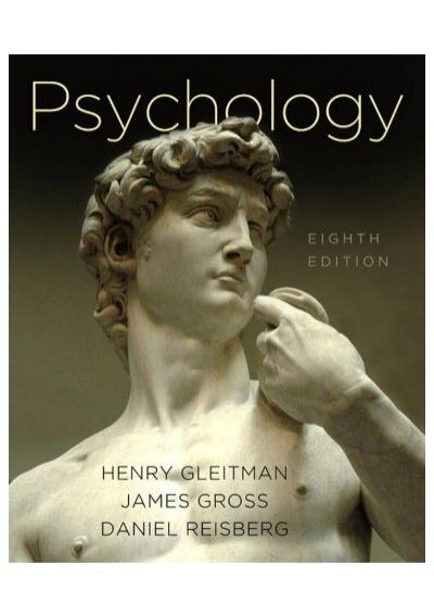 Gleitman Gross Psychology