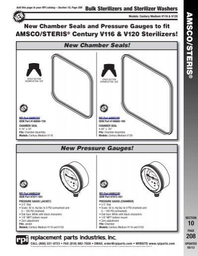 Steris v120 Service manual