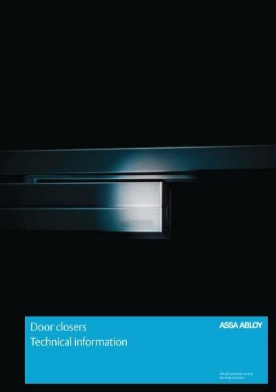 download full catalogue of assa abloy door closers here. Black Bedroom Furniture Sets. Home Design Ideas