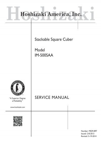 hoshizaki ice machine service manual pdf free owners manual u2022 rh infomanualguide today Ice Machine Service Manual Cornelius Ice Machine Parts Manual