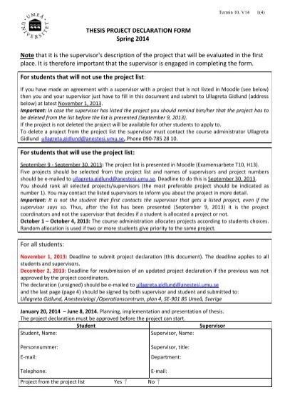 How to write declaration in dissertation - blogger.com