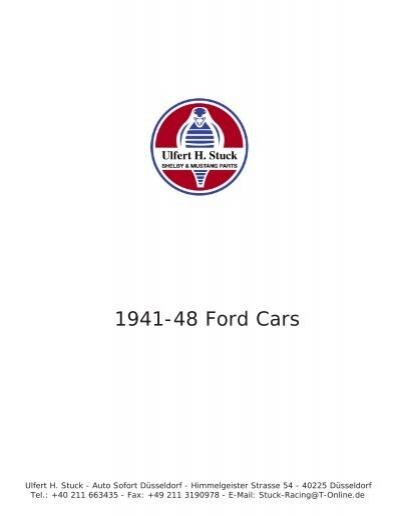 1941-56 Ford Headlight Bucket to Fender Gasket Set