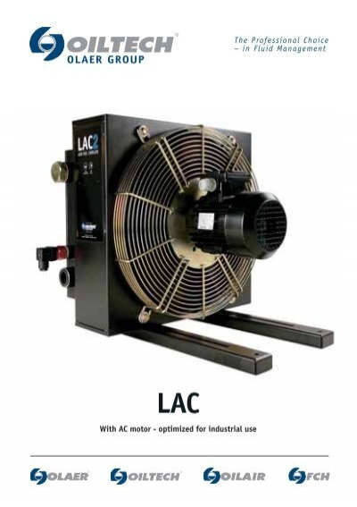 Air Oil Coolers Oiltech Lac Brochure