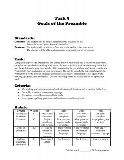 preamble worksheets free worksheets library download and print worksheets free on comprar en. Black Bedroom Furniture Sets. Home Design Ideas