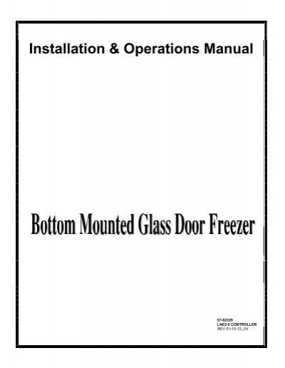 Installation  U0026 Operations Manual