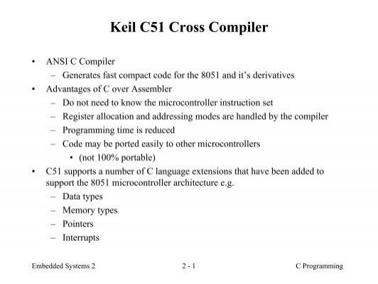 keil cross compiler