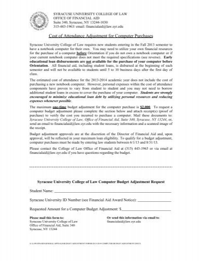 Budget Request Form Northwestern University – Budget Request Form