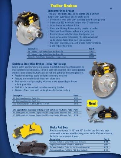 """Tie Down Engineering 82113 Eliminator 10/"""" Vented Disc Brake Kit"""