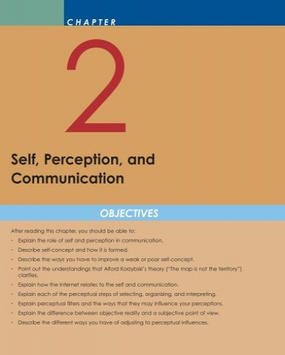 self perception communication essay Explain instances of effective and ineffective communication in terms of the principles of self-concept and perception wood presents seven guidelines for improving perception and communication.