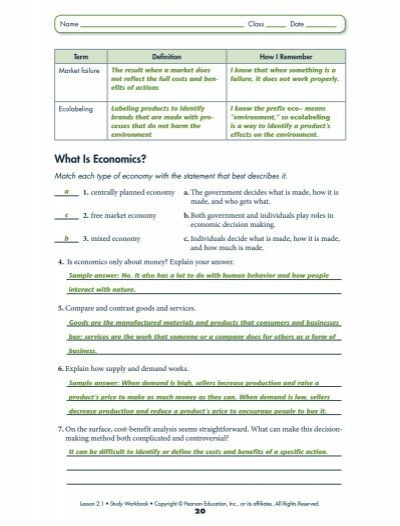 Holt Environmental Science Worksheets Answers - holt environmental ...