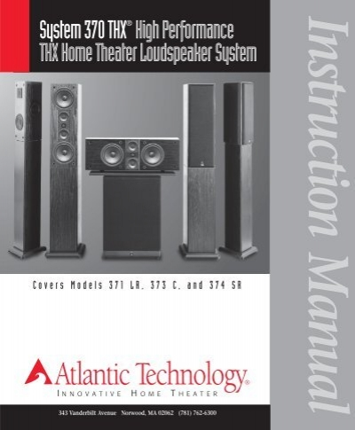 system 370 thx high performance thx home theater rh yumpu com Atlantic Theater Sign IMAX Theater Atlantic City