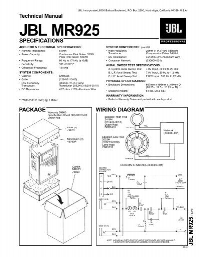 memphis audio speaker wiring diagram