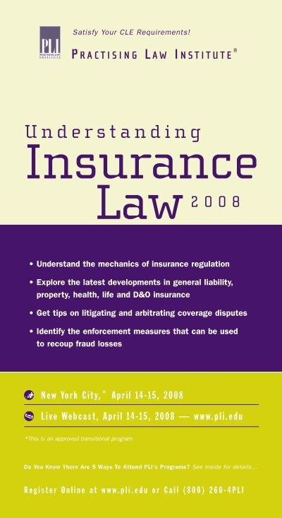 get law insurance