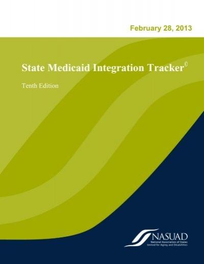 State Medicaid Integration Tracker - National Association ...