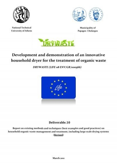 best examples and good practices on household organic waste