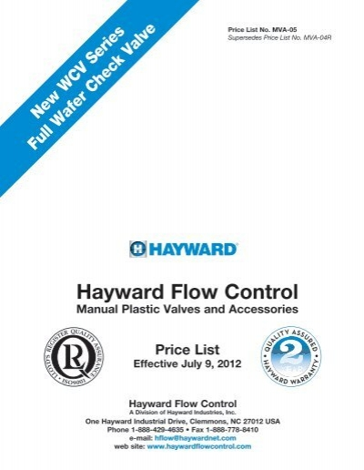 Hayward BFA2030CFS Series BFA Standard Flange Bulkhead Fitting 3 Size 3 Size Hayward Industries Inc. Socket x Threaded End CPVC with FPM Seals