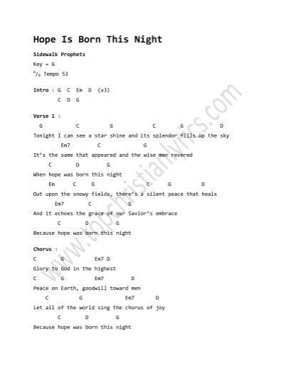 Do It Again chords - Top Christian Lyrics