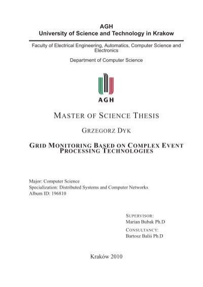 thesis for master of science What's the difference between a master's thesis and a phd what is the difference between doing a master of science degree with and without a thesis in the us.