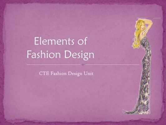 Elements Of Fashion Design : Elements of fashion design tlc is