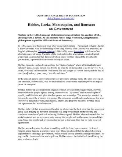 montesquieu theory of separation of powers