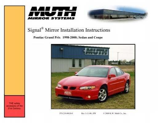 pontiac grand prix 1998 2000 rh yumpu com 1998 pontiac grand prix manual 1998 pontiac grand prix manual transmission