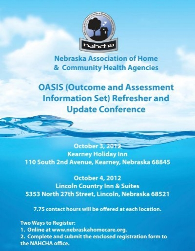 OASIS (Outcome and Assessment Information Set) Refresher and ...