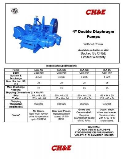 4 double diaphragm pumps bbc pump and equipment ccuart Images