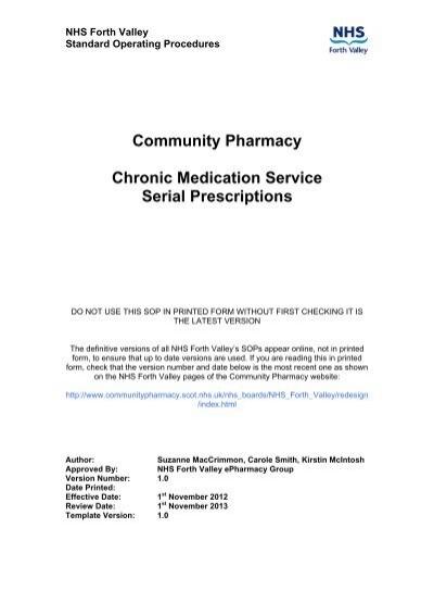 Community pharmacy cms sample sop maxwellsz