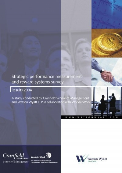 strategic performance measurement system