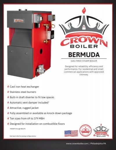Bermuda Installation Manual Crown Boiler