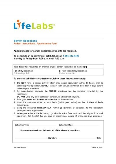 Access Request Form - Ontario - Lifelabs