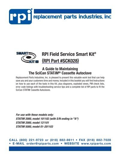SciCan Power Switch 2000 /& 5000