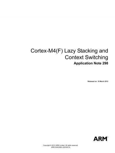 cortex m4 technical reference manual sample user manual u2022 rh dobrev co ARM Cortex M4 Tutrial cortex-m4 trm — arm cortex-m4 processor technical reference manual