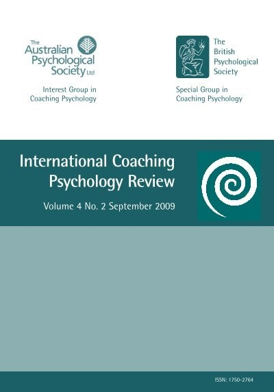 handbook of coaching psychology pdf