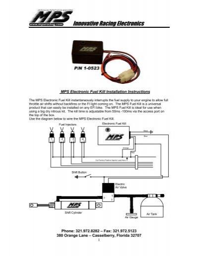 sport bike electric air shifter mps racing rh yumpu com acd air shifter wiring diagram pingel air shifter wiring diagram