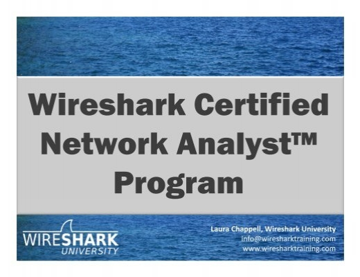 B-8 Wireshark Certification - Sharkfest - Wireshark