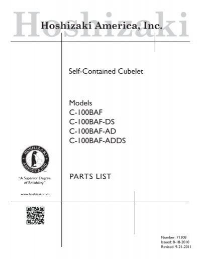 Hoshizaki 4A2860-01 Power Supply Cord