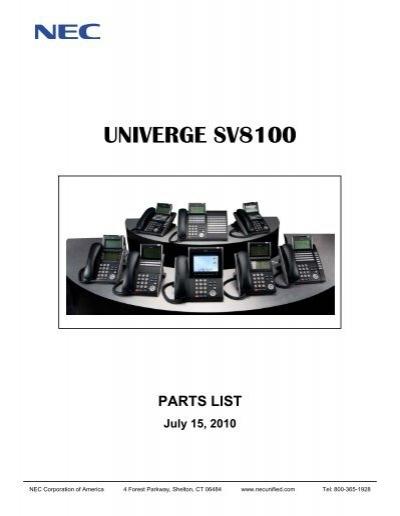 SV8100 P