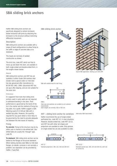 Halfen technical manual