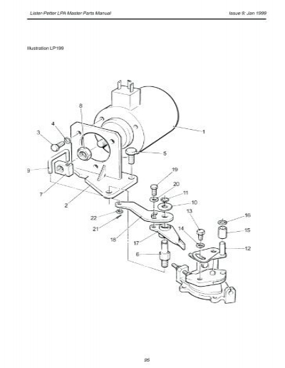 Lister Petter Tr2 Parts Manual